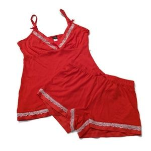 Cassandra Intimates sleep set tank and shorts